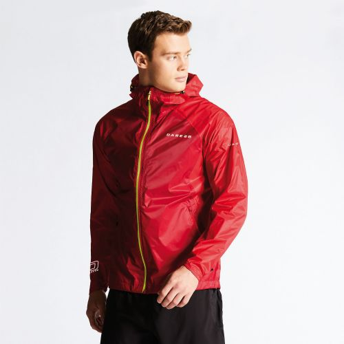 Dare2b PRECEPT JACKET - Dark Red / Danger Red